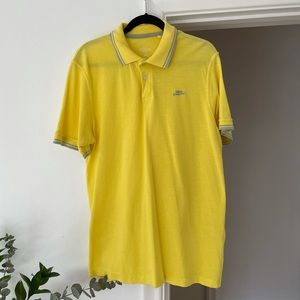 3 for $25 Mens Yellow Sunshine Summer Spring Polo
